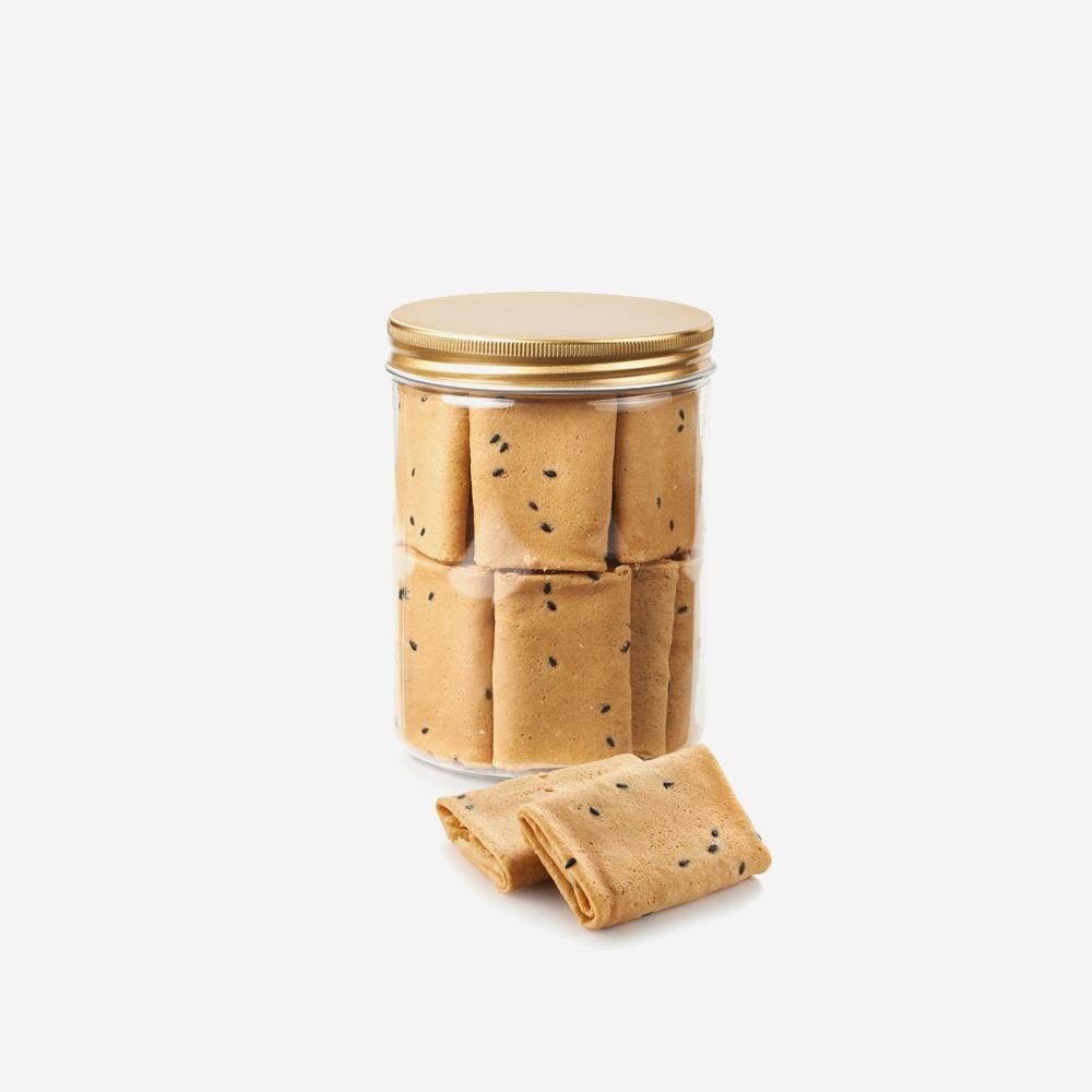 Honey Chicken Floss Crispy Rolls